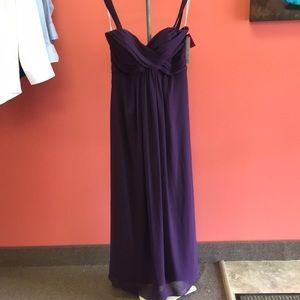 Barijay eggplant color dress